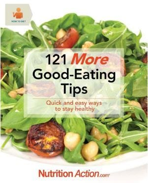 How to Diet: 121 MORE Good-Eating Tips