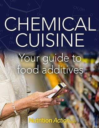 Chemical Cuisine-Your guide to food additives