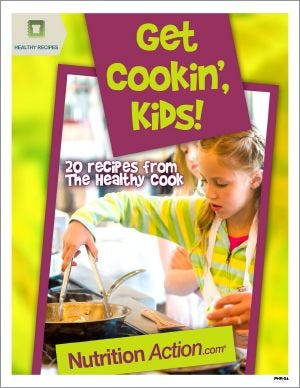 Healthy Recipes: Get Cookin', Kids!